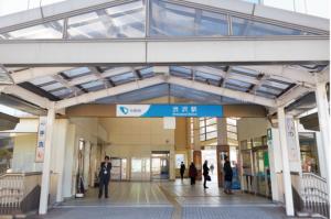 渋沢駅の画像